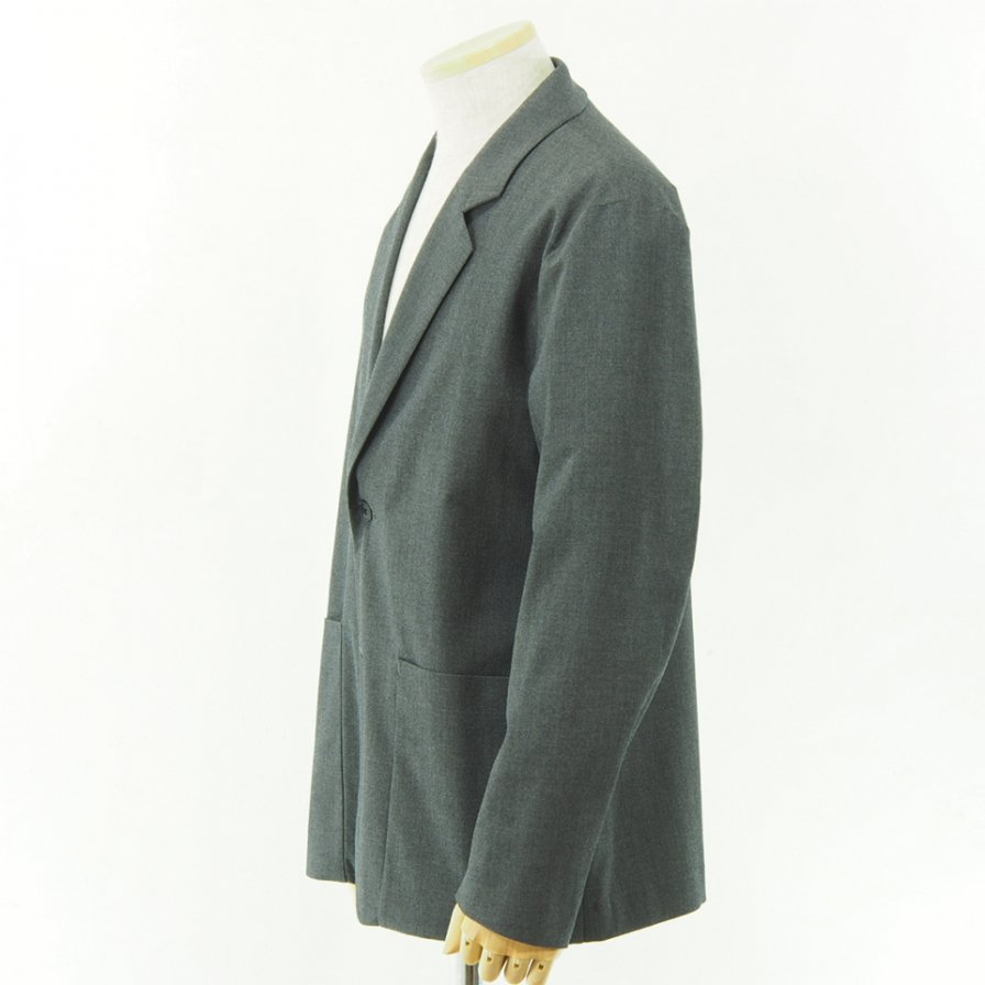 STILL BY HAND - Wool Jacket - Grey