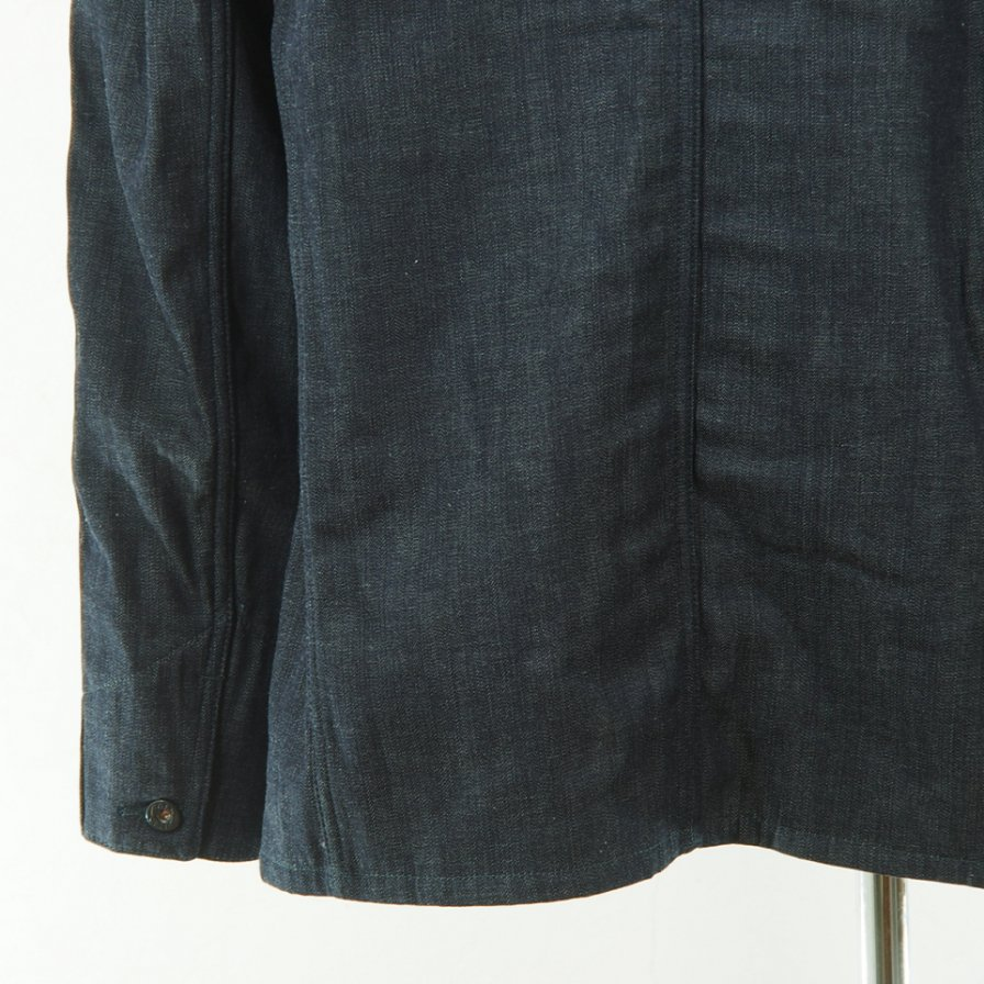 POST OVERALLS - Lined POST 41-R - 8oz Denim With Lining - Indigo