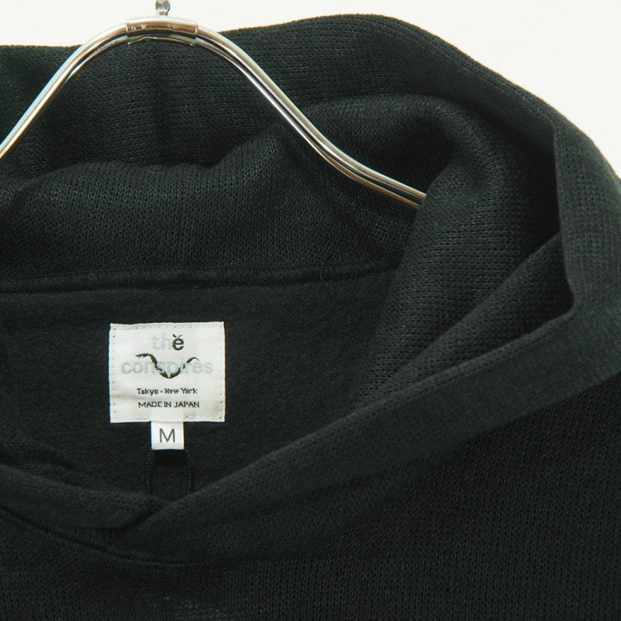 conspires - Inside Flannel Polyester Parka - Black