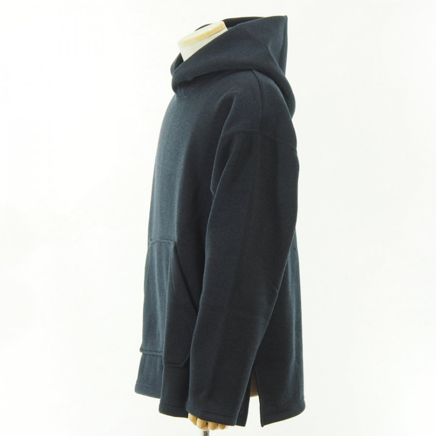 conspires - Inside Flannel Polyester Parka - Navy