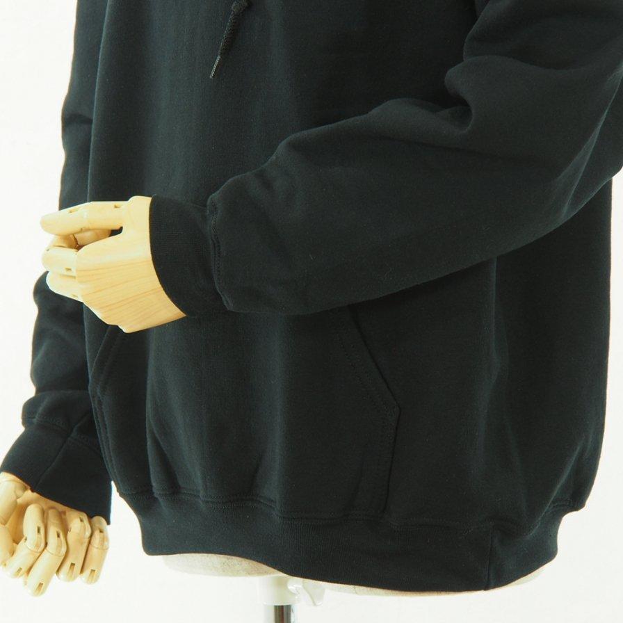 RANDT - Back Logo Printed Hoody - Big Body - Black
