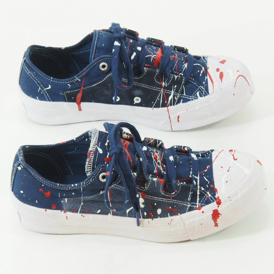 Needles - Asymmetric - Ghillie Sneaker - Over Dye / Print