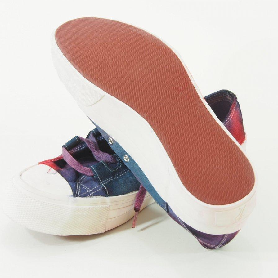 Needles - Asymmetric - Ghillie Sneaker - Uneven Dye