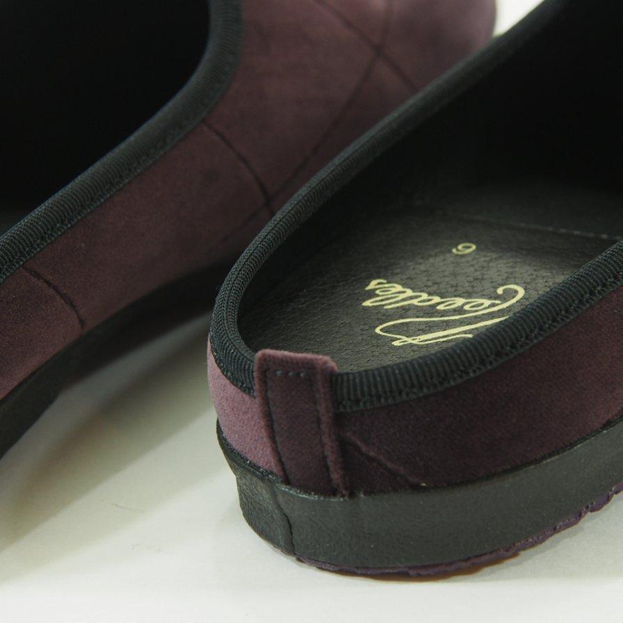 Needles - Papillon Emb. Mule - Pe/C Velvet / Opal Finished - Bordeaux