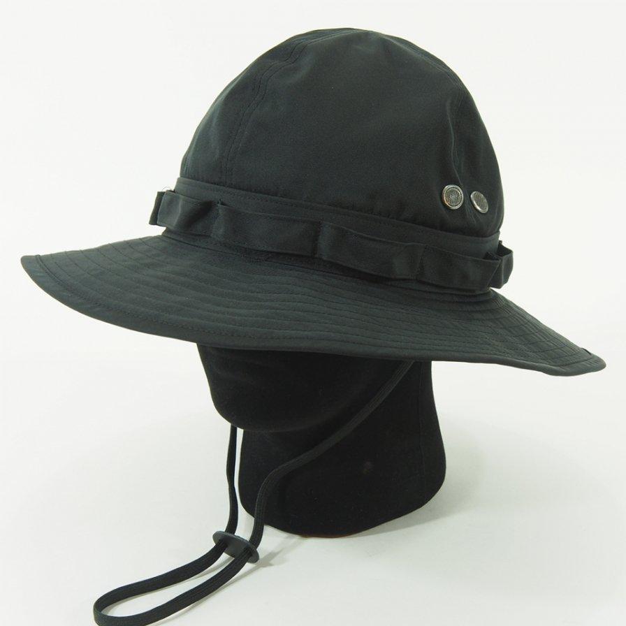 South2 West8 - Jungle Hat - Poly Gabadine - Black