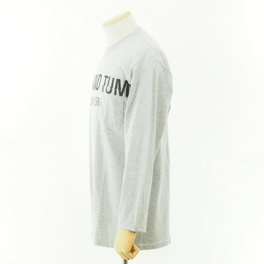 RANDT - Logo Long Sleeve T Shirt - Big Body - Grey