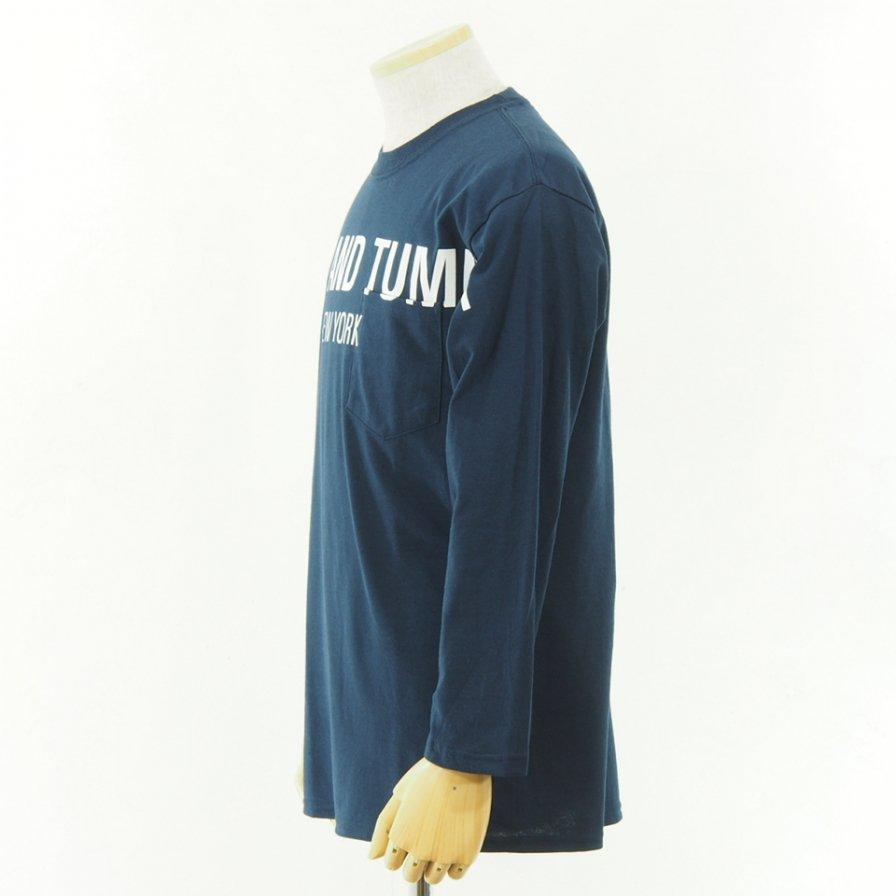 RANDT - Logo Long Sleeve T Shirt - Big Body - Navy