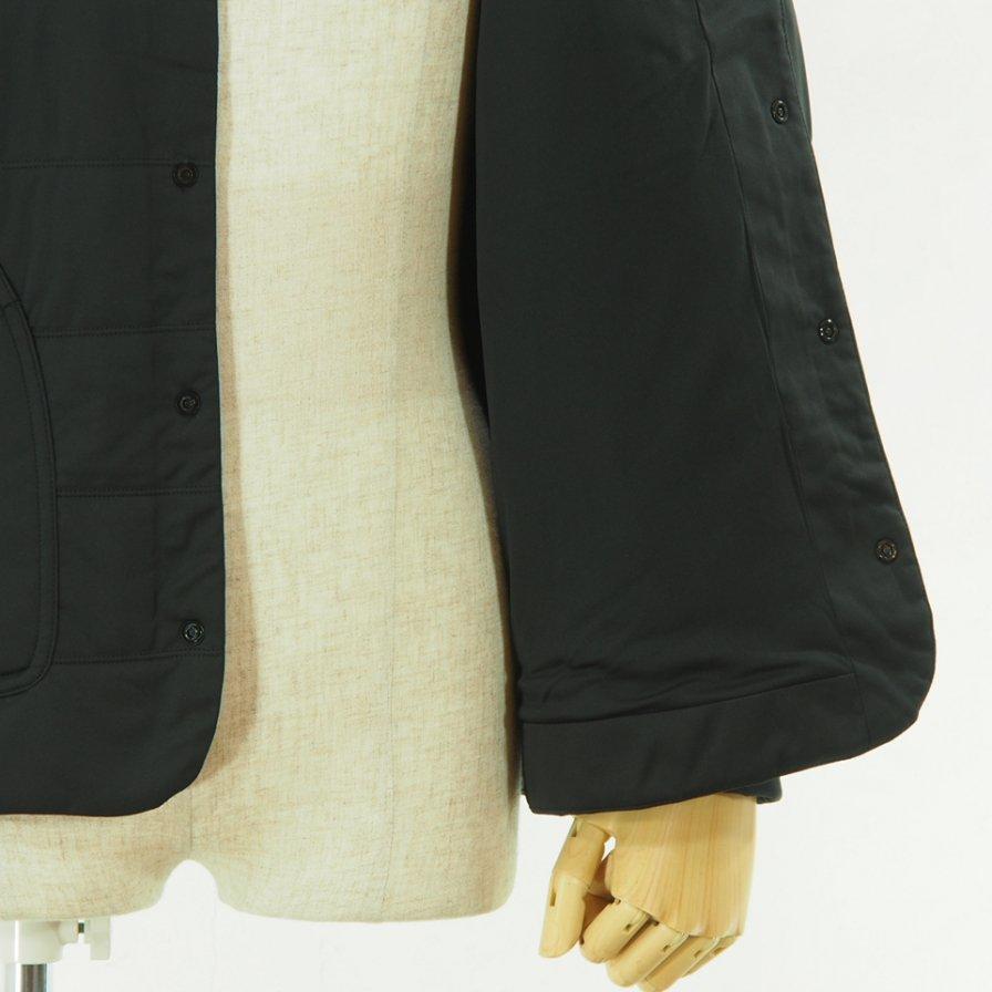 snow peak - Flexible Insulated Cardigan - Black