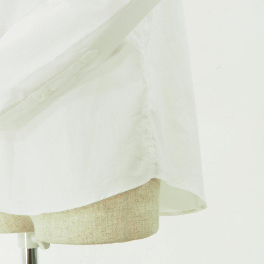 gorouta - Short Round Coller Shirt - White