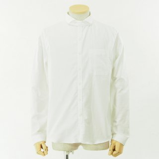 gorouta - Short Round Coller Shirt - White