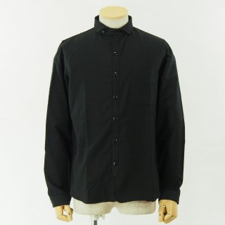 gorouta - Short Round Coller Shirt - Black