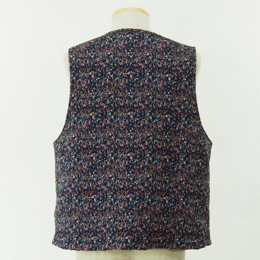 Engineered Garments - Cover Vest - Mini Floral Jacquard