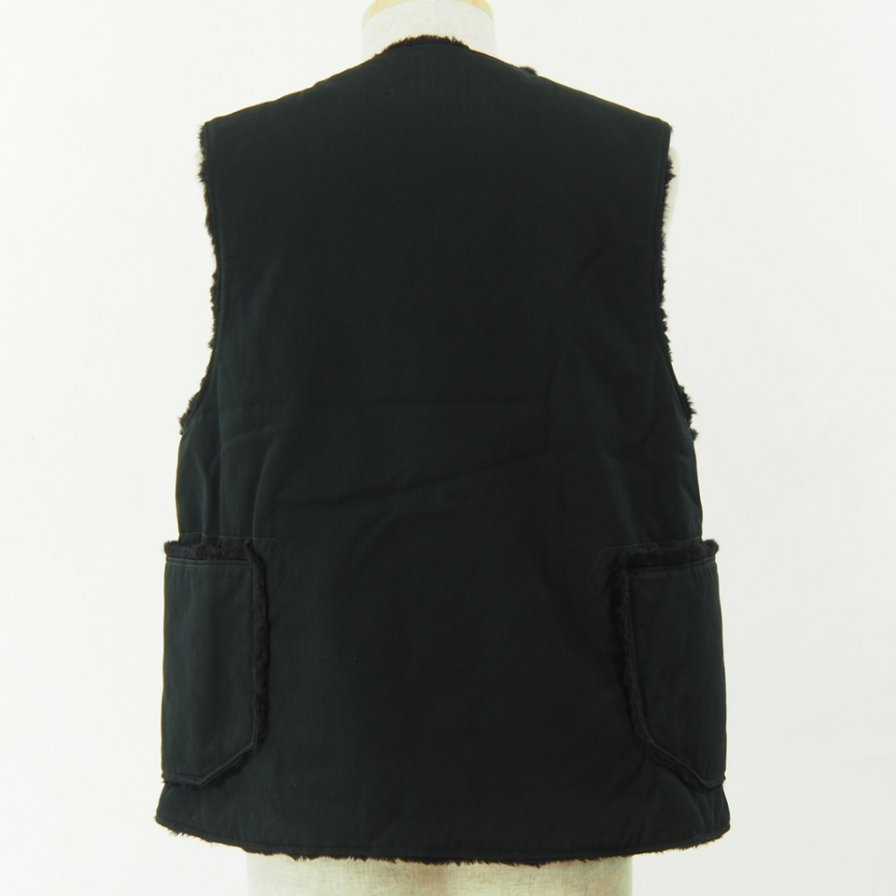 Engineered Garments - Over Vest - Cotton HB Twill - Black