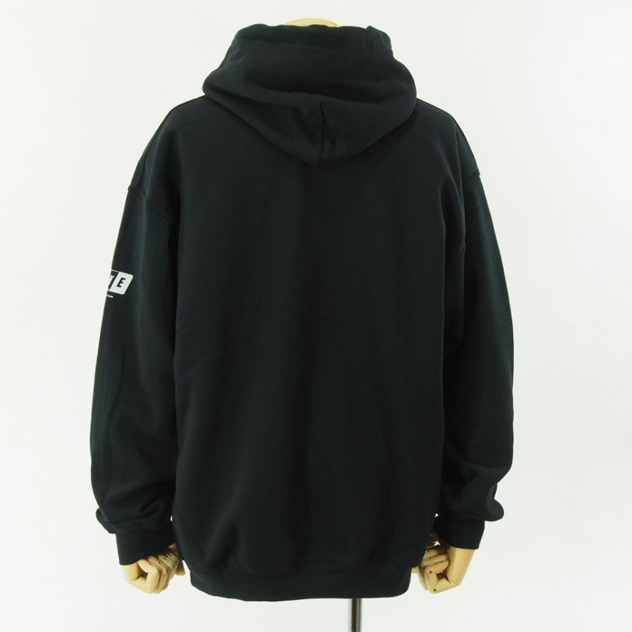 AiE - Printed Hoody - Small AiE Logo - Black