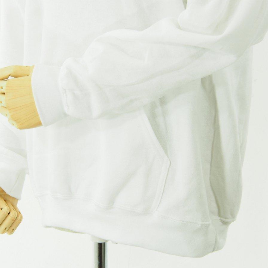 AiE - Printed Hoody - Big AiE Logo - White