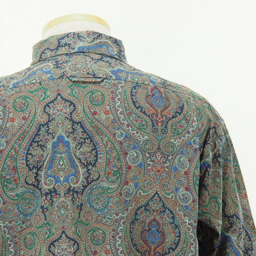 Engineered Garments - Short Collar Shirt - Paisley Print