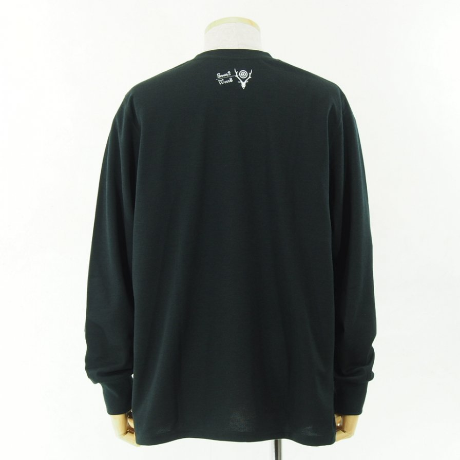 South2 West8 - L/S Crew Neck Tee - Poly/C Jersey - WALK ON