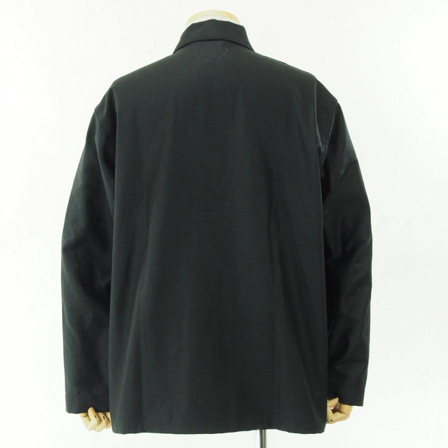 EG WORKADAY - Utility Jacket - Reversed Sateen - Black