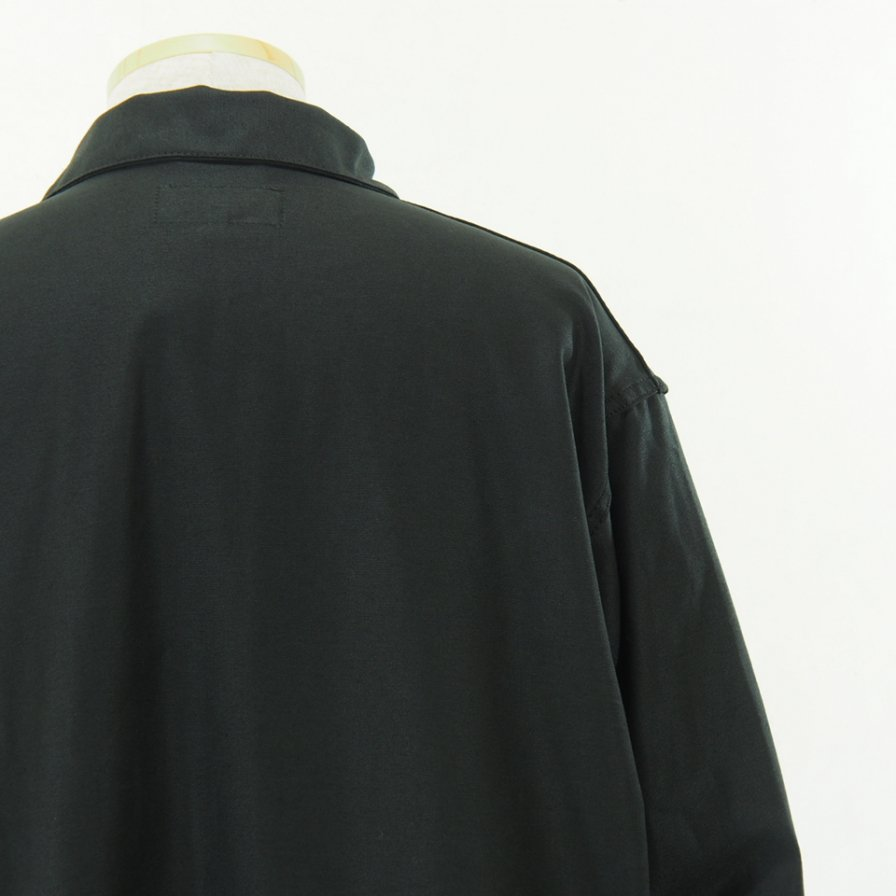 EG WORKADAY - Shop Coat - Reversed Sateen - Black