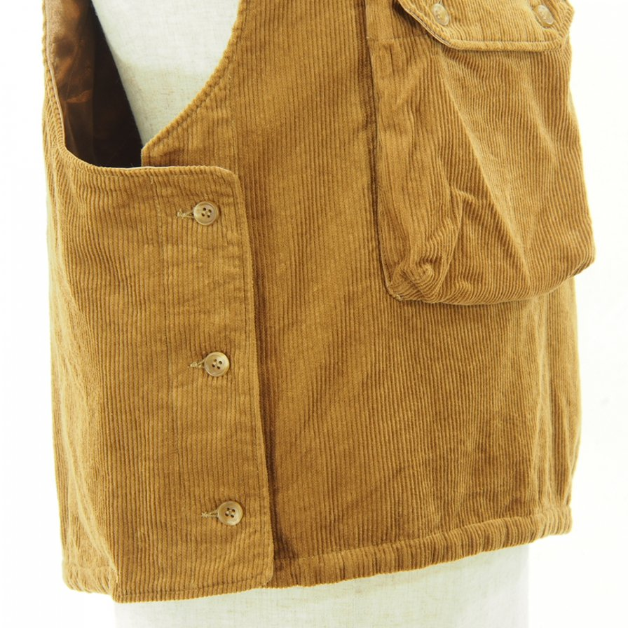 Engineered Garments - Cover Vest - 8W Corduroy - Chestnut