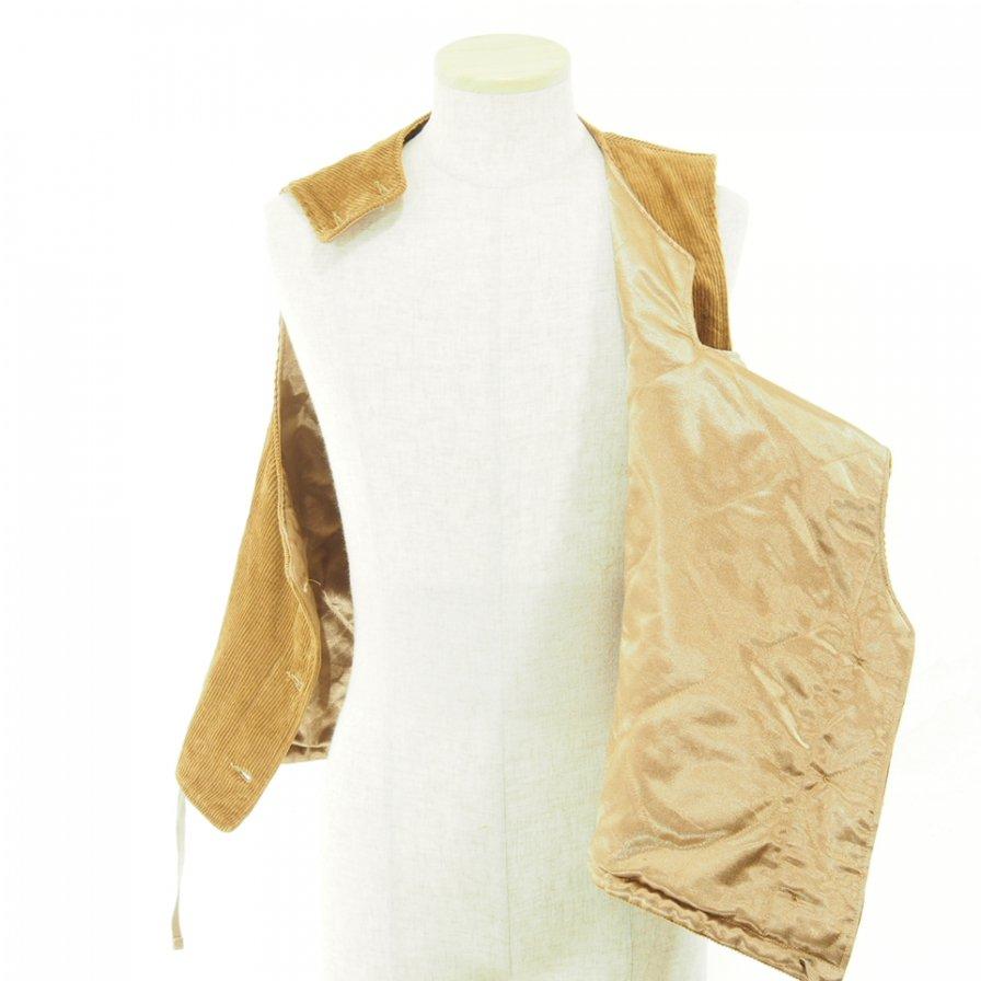 Engineered Garments - Cover Vest - 8W Corduroy - Chestnut