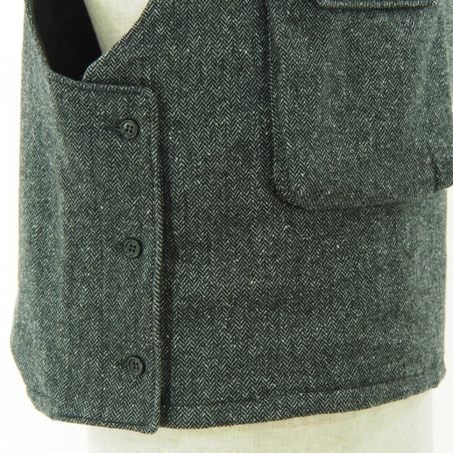 Engineered Garments - Cover Vest - Poly Wool HB - Grey