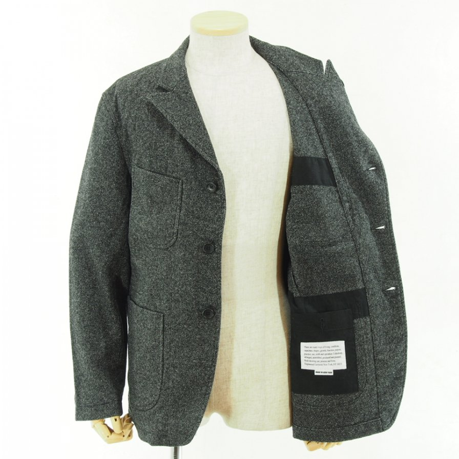 Engineered Garments - NB Jacket -  Blend Homespun - Grey