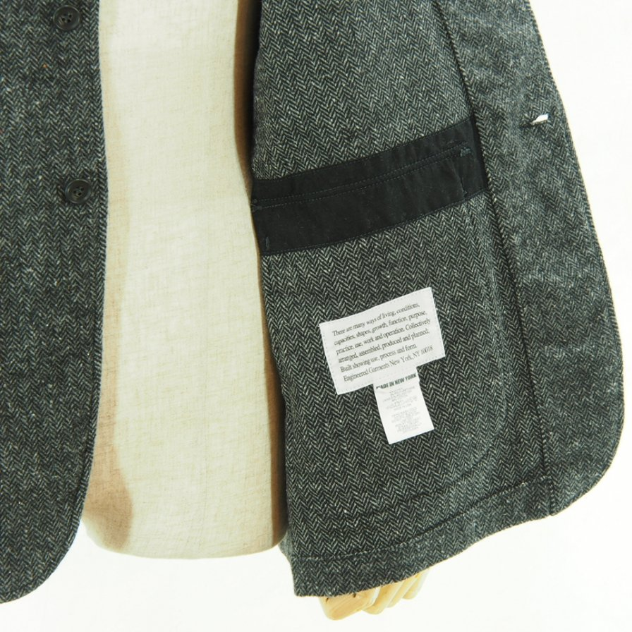 Engineered Garments - Loiter Jacket - Poly Wool HB - Grey