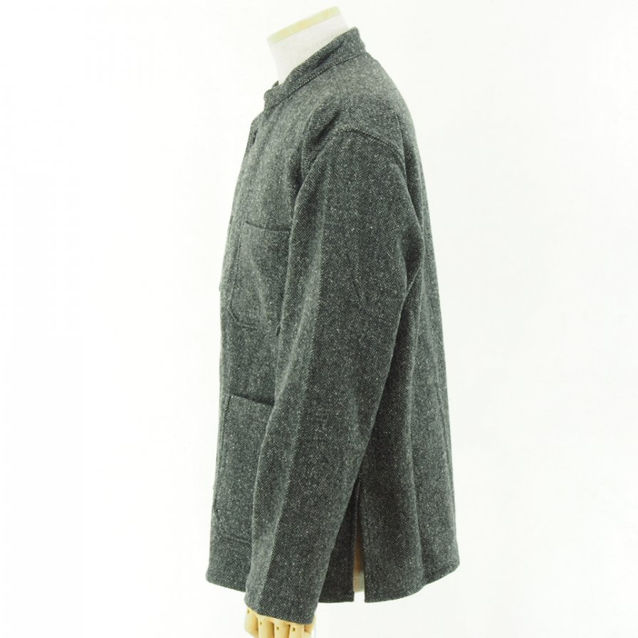 Engineered Garments - Dayton Shirt - Poly Wool HB - Grey