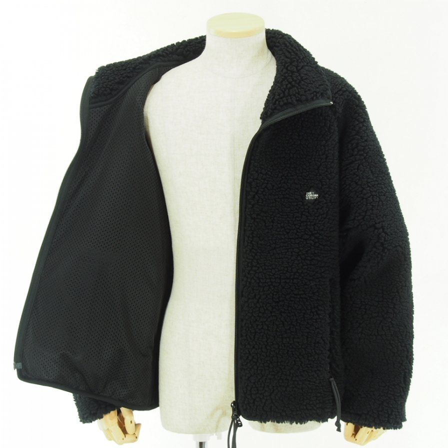 CORONA - Yak Liner Jacket - Retro Sheep Fleece - Black