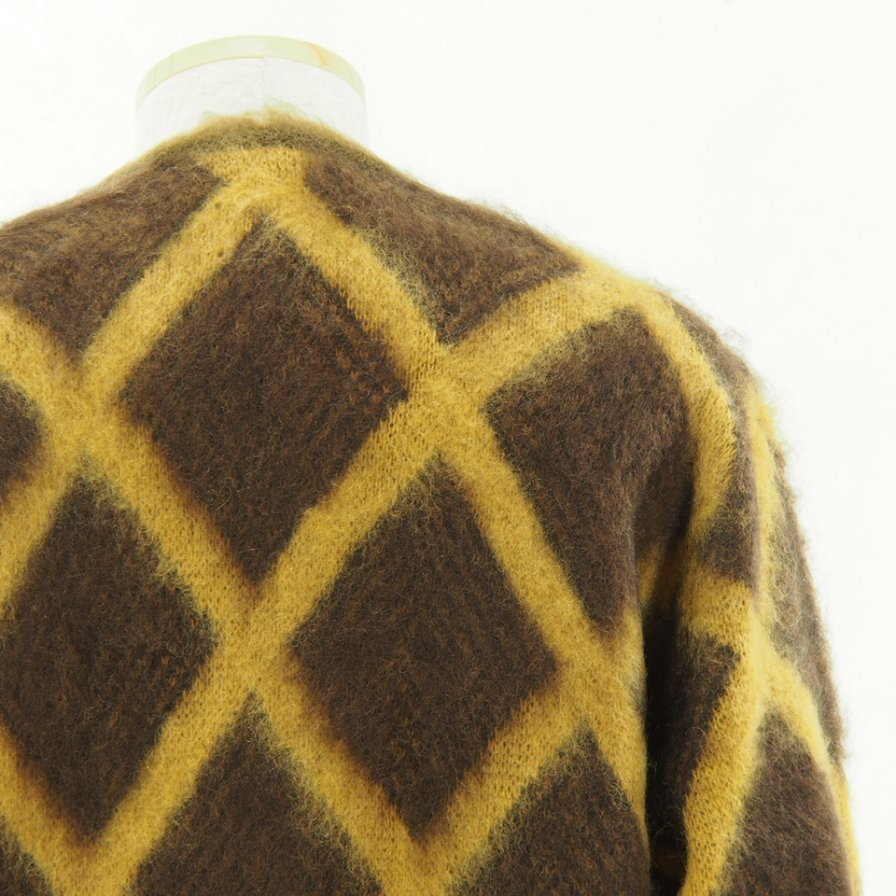 Needles - Mohair Cardigan - Diamond - Olive