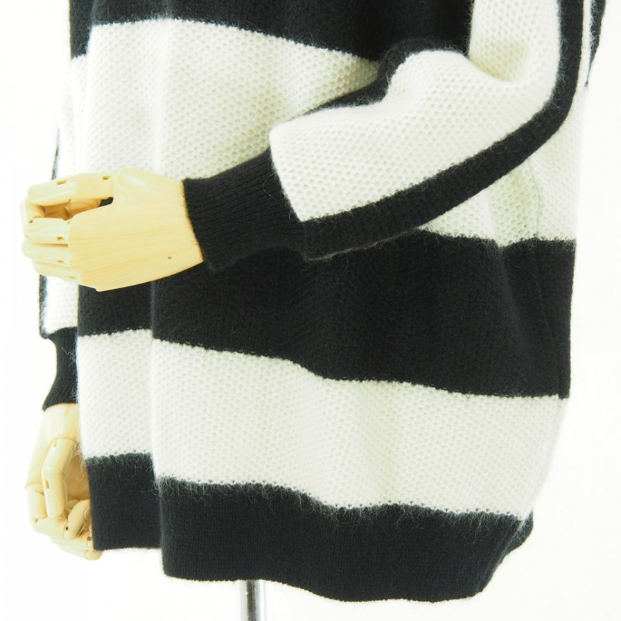 Needles - Mohair Big Sweater - White