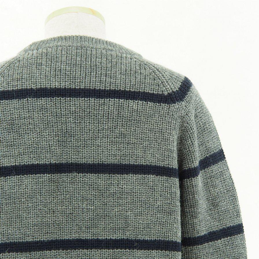 NOMA t.d. - Big Stripe Sweater - Grey