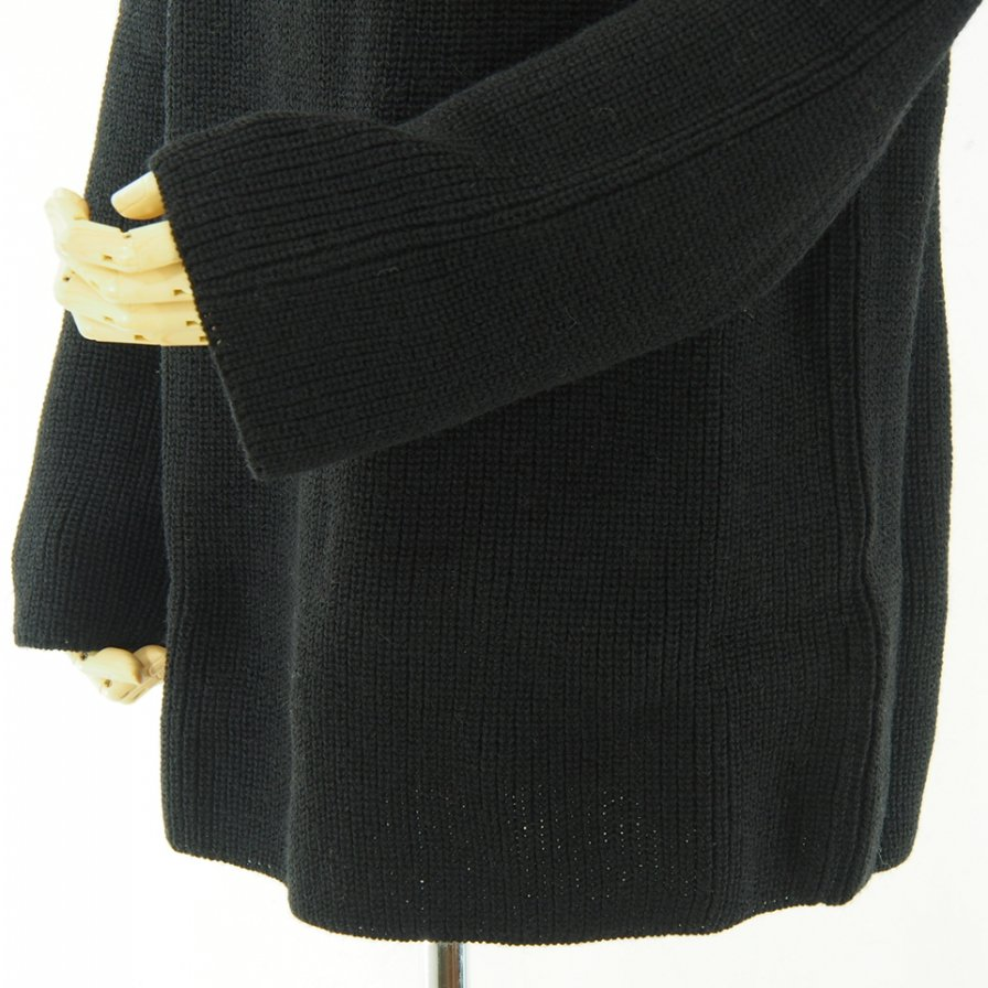 NOMA t.d. ノーマティーディー - Big Stripe Sweater - Black