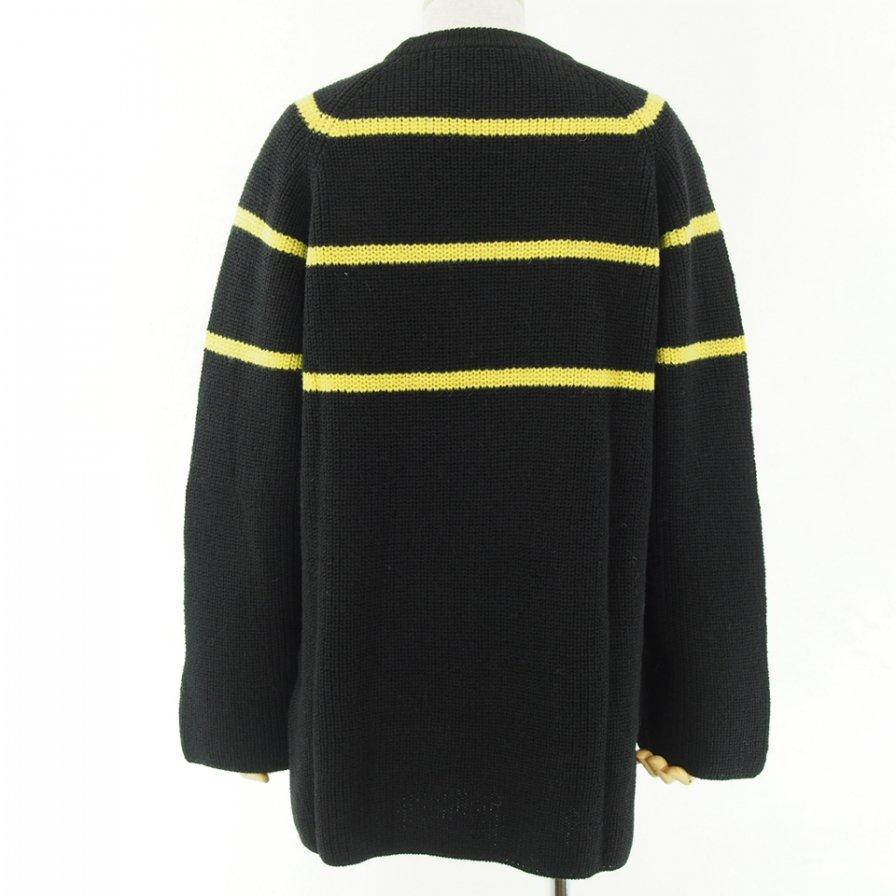 NOMA t.d. - Big Stripe Sweater - Black