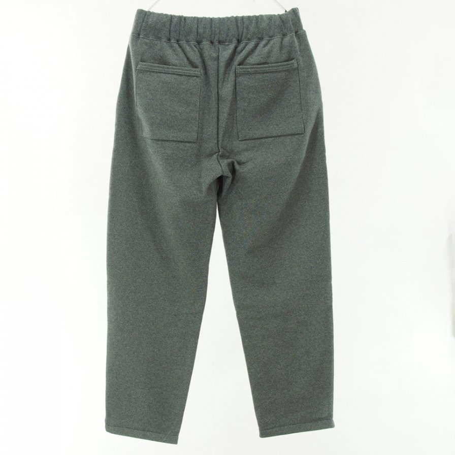 STILL BY HAND - Cotton Sweat Pant - Charcoal
