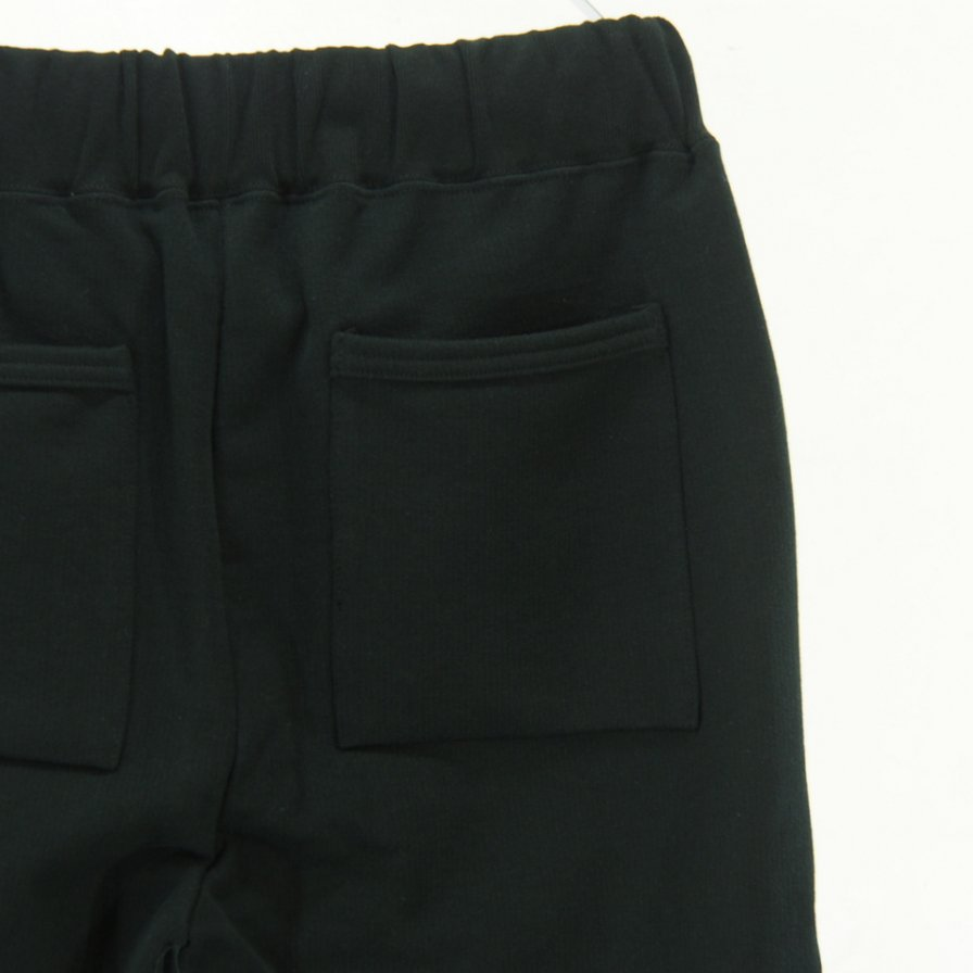 STILL BY HAND - Cotton Sweat Pant - Black