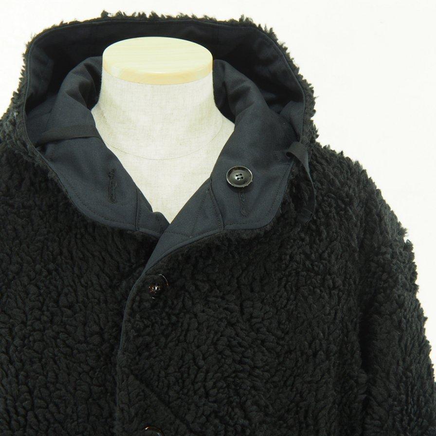 conspires - Mil Parka Reversible - Rip Stop / Fake Shearing - Dk.Navy / Black