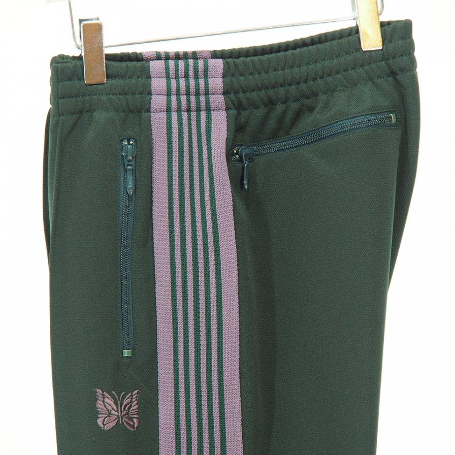 Needles - Narrow Track Pant - Poly Smooth - Green