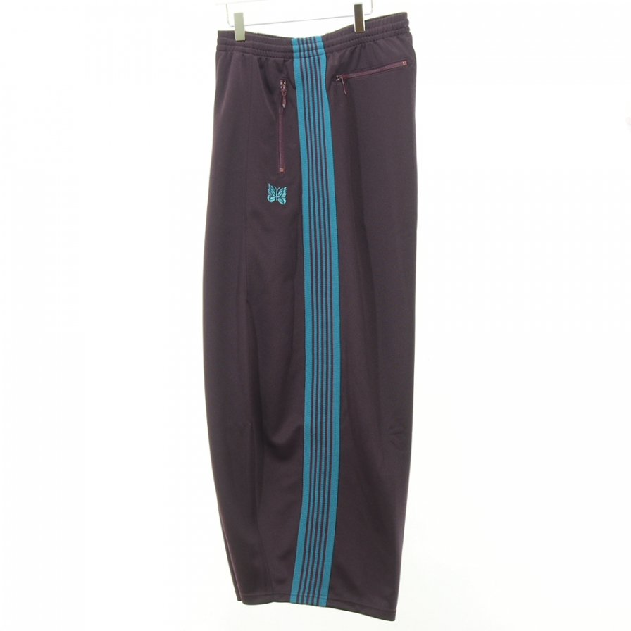 Needles - H.D. Track Pant - Poly Smooth - Bordeaux