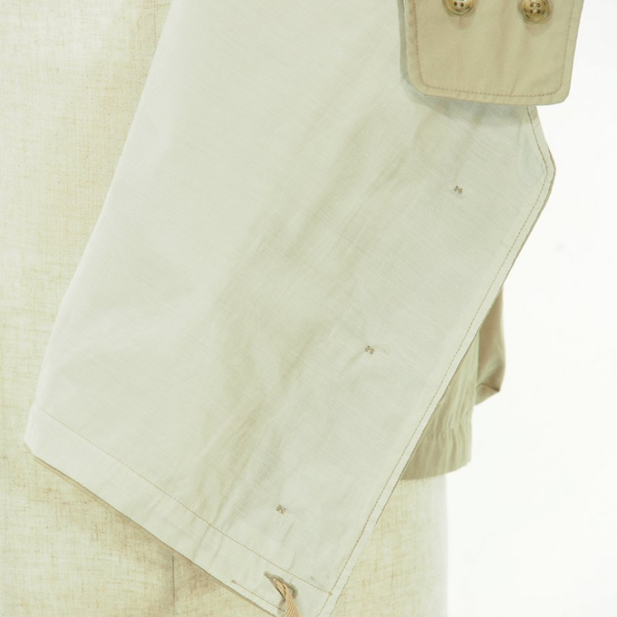 Engineered Garments - Cover Vest - High Count Twill - Khaki