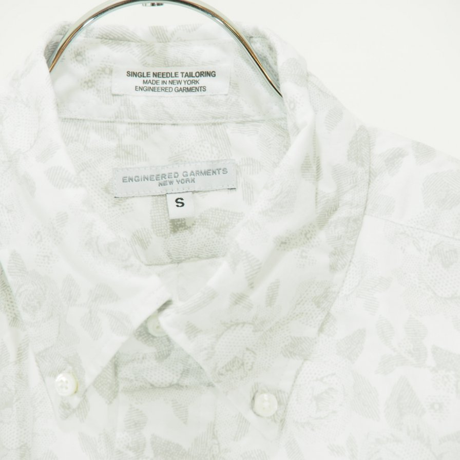 Engineered Garments - 19 Century BD Shirt - Shadow Rose Print