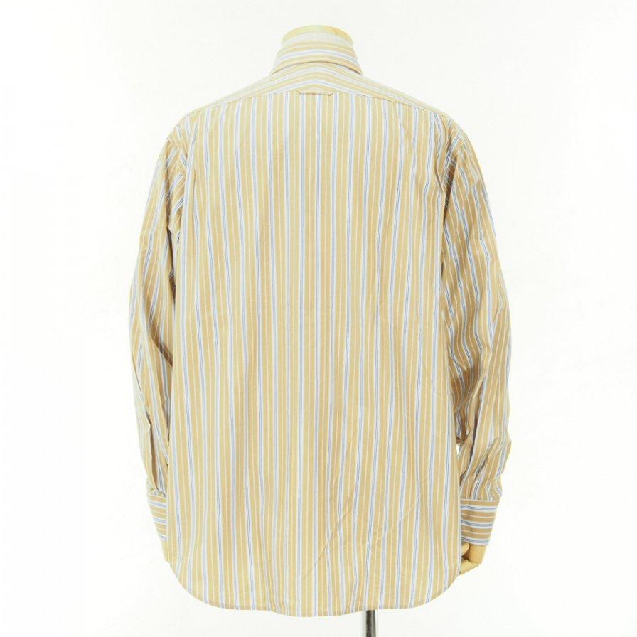 Engineered Garments - Short Collar Shirt - Multi St. Broadcloth - Tan