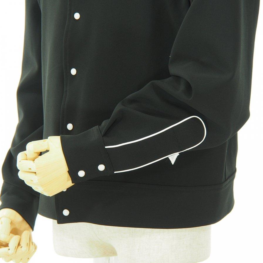 Needles - Papillon Emb. Piping Cowboy Shirt - Pe/Pu Double Cloth - Black