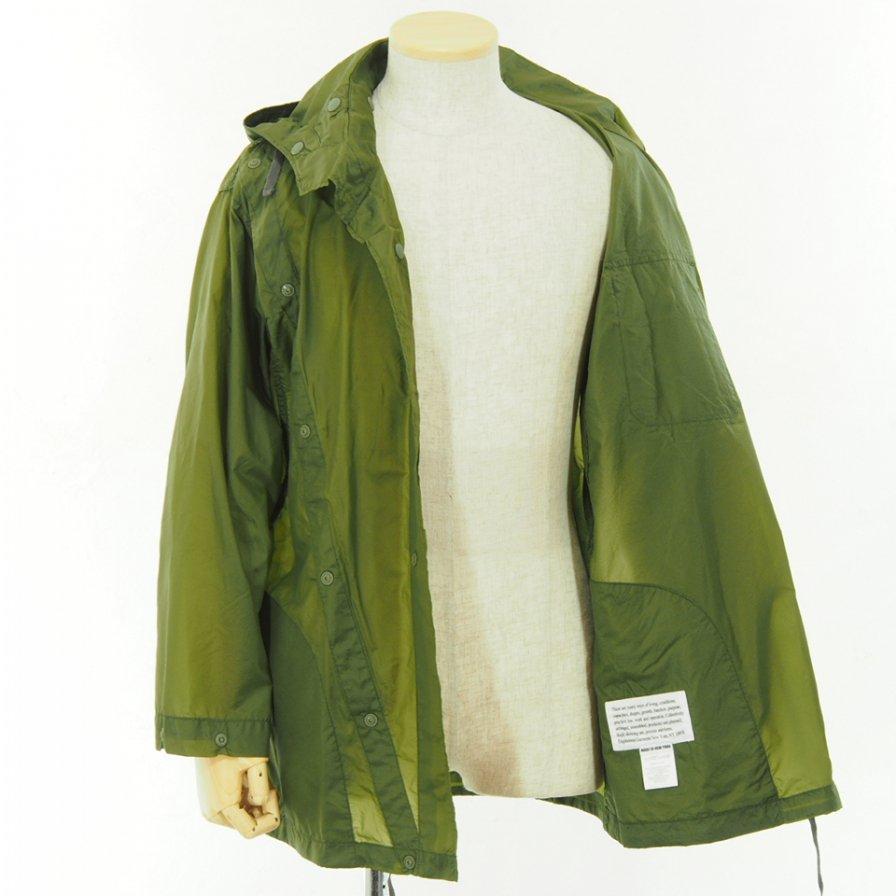 Engineered Garments - Sonor Shirt Jacket - Nylon Micro Ripstop - Olive