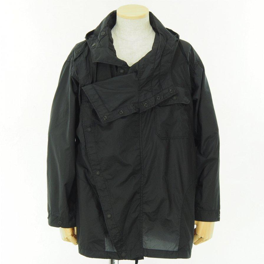 Engineered Garments - Sonor Shirt Jacket - Nylon Micro Ripstop - BLACK