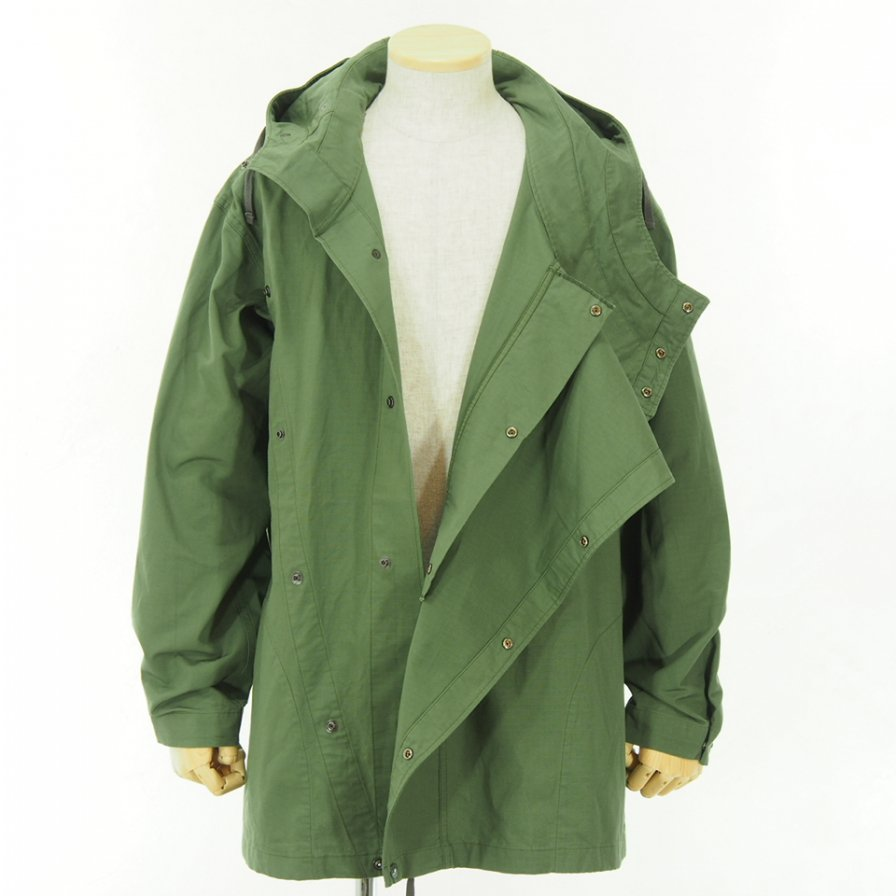 Engineered Garments - Sonor Shirt Jacket - Cotton Ripstop - Olive
