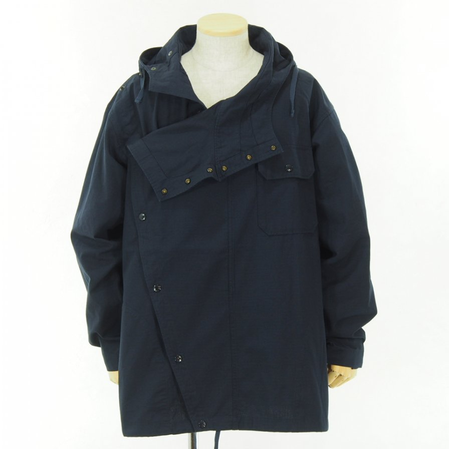 Engineered Garments - Sonor Shirt Jacket - Cotton Ripstop - Dk.Navy