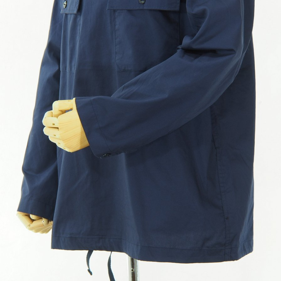 Engineered Garments - Cagoule Shirt -  Cotton Nano Twill - Navy