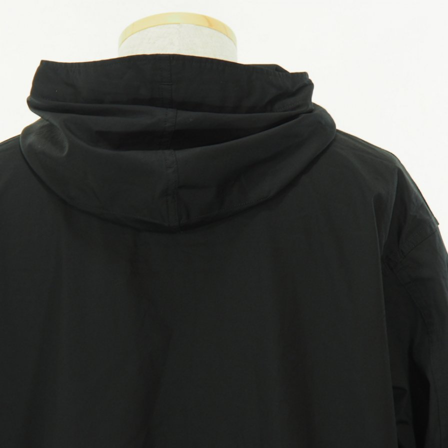Engineered Garments - Cagoule Shirt -  Cotton Nano Twill - Black